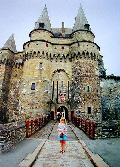 Die Burg von Vitré